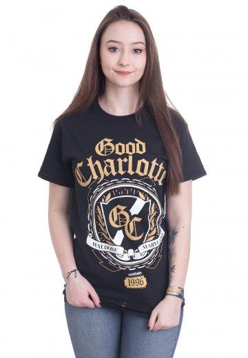 Kleding en accessoires New Official GOOD CHARLOTTE CREST T-Shirt