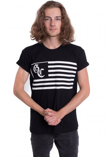 Good Charlotte - Flag And Seal - T-Shirt