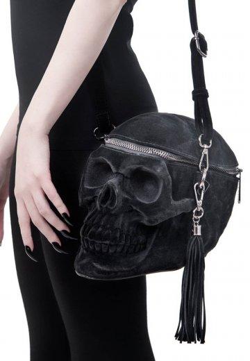 Killstar - Grave Digger Velvet Black - Bag