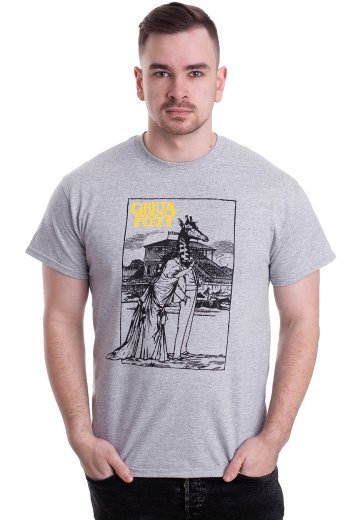 904cd4301c Greta Van Fleet - Giraffe Light Grey - T-Shirt - Official Pop Merchandise  Shop - Impericon.com Worldwide