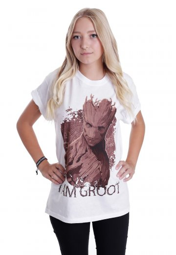GUARDIANS OF THE GALAXY I/'AM GROOT  T-SHIRT SIZES CHILD AND ADULTS  NEW SEALED
