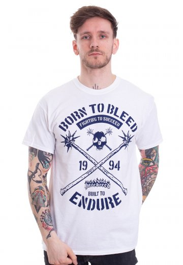 Hatebreed - Born To Bleed White - T-Shirt