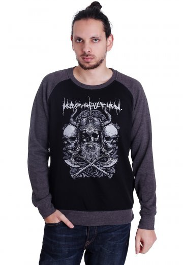 Heaven Shall Burn - Axes Black/Charcoal - Sweater