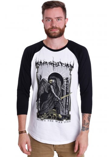 Heaven Shall Burn - Bring The War Home White/Black - Longsleeve