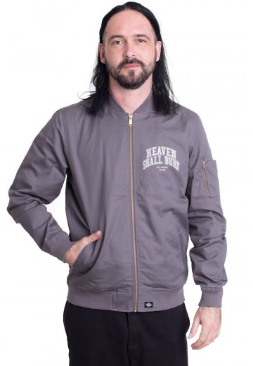 Heaven Shall Burn - College Logo Limited Grey Dickies - Jacket