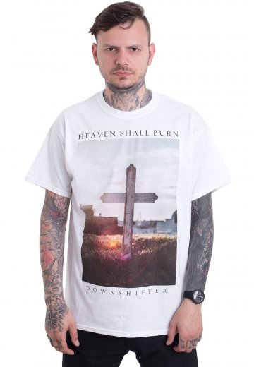 Heaven Shall Burn - Downshifter White - T-Shirt
