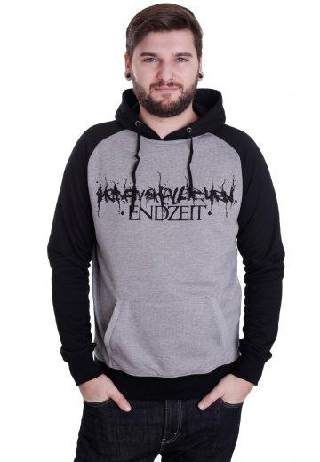 Heaven Shall Burn - Endzeit Sportsgrey/Black - Hoodie