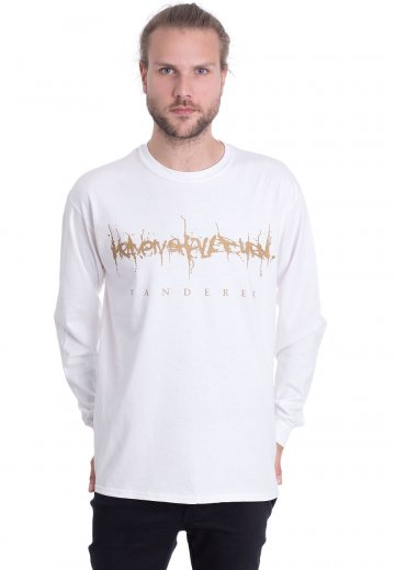 Heaven Shall Burn - Gold Crane White - Longsleeve
