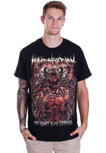 Heaven Shall Burn - My Heart Is My Compass - T-Shirt