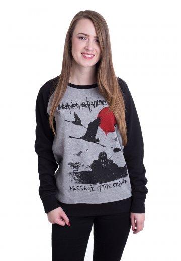 Heaven Shall Burn - Passage Of The Crane Sportsgrey/Black - Sweater