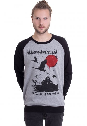 Heaven Shall Burn - Passage Of The Crane Sportsgrey/Black - Sweater