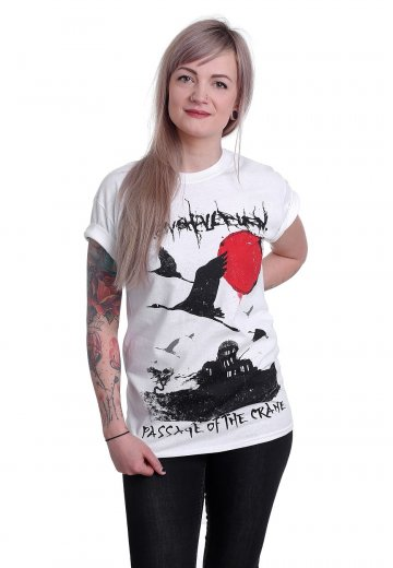 Heaven Shall Burn - Passage Of The Crane White - T-Shirt