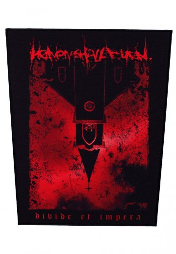 Heaven Shall Burn - Red Church - Backpatch