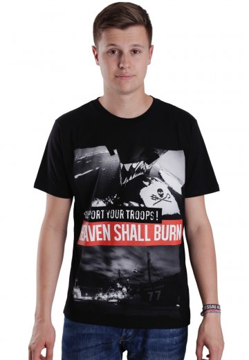 Heaven Shall Burn - Support Your Troops Benefiz - T-Shirt