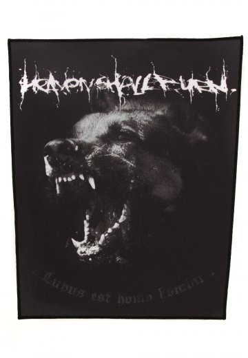 Heaven Shall Burn - Wolves - Backpatch