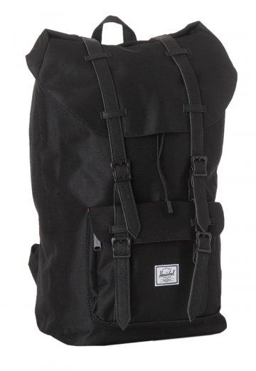 Herschel - Little America Black Black Synthetic Leather - Backpack -  Streetwear Shop - Impericon.com UK 3c002c4decf42