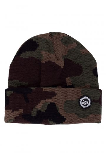 f0e367ef002 HYPE. - Forest Camo Multi - Beanie - Streetwear Shop - Impericon.com  Worldwide
