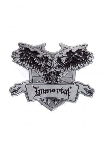 Immortal - Crest - Pin