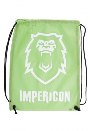 5eb3b480010f Impericon - Lion Green Polyester Drawstring - Backpack - Streetwear Shop -  Impericon.com US
