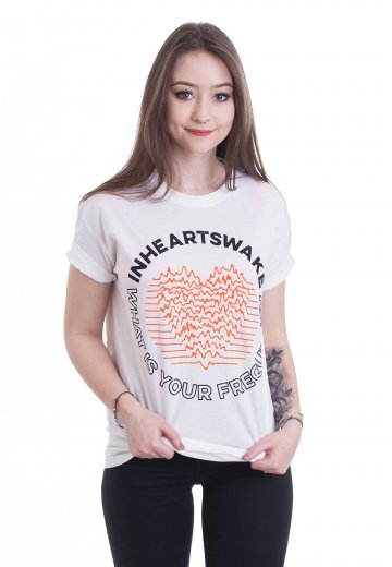 In Hearts Wake - Frequency White - T-Shirt