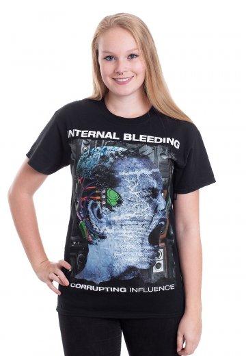 Internal Bleeding - Corrupting Influence Cover - T-Shirt