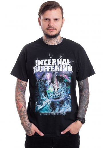 Internal Suffering - Cyclonic Void Of Power Cover - T-Shirt