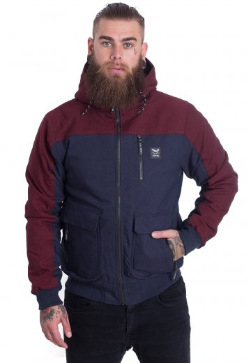 Iriedaily - Dock36 Worker Navy/Red - Jacket