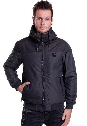 Iriedaily - Insulaner Mel Black Melange - Jacket