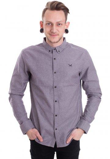 Iriedaily - Samuel L/S Grey-Melange - Shirt