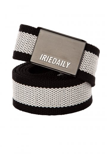 Iriedaily - Striped Black - Belt
