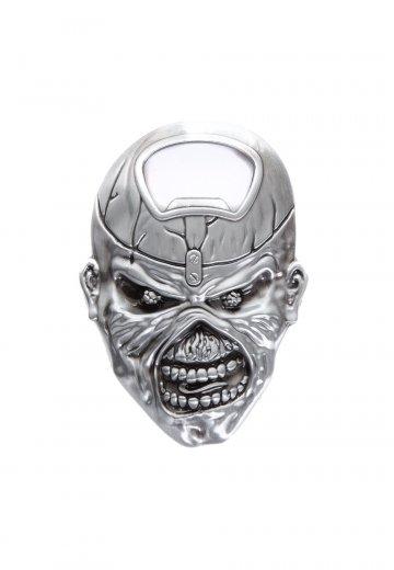 Iron Maiden Eddie Head Flaschenöffner Offizieller Heavy Metal