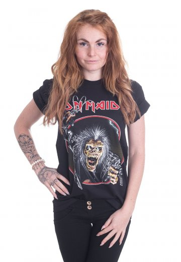 32a9d4a5 Iron Maiden - Eddie Hook - T-Shirt - Official Hard And Heavy Merchandise  Shop - Impericon.com US