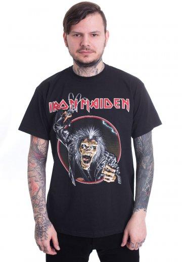 45eb23f5 Iron Maiden - Eddie Hook - T-Shirt - Official True Metal Merchandise Shop -  Impericon.com US