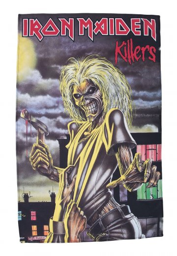 Iron Maiden - Killers - Vlajka - Oficiální obchod s True Metal ... ccd994b95bb
