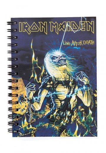 Iron Maiden - Live After Death - Notebook