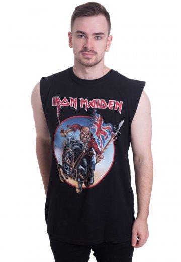 Axe Colour Iron Maiden Ladies Vest Tee