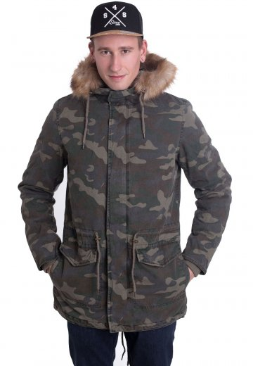 Ironnail - James Parka Wood Camo - Jacket