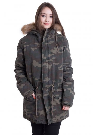 Ironnail - James Parka Wood Camo - Jacket