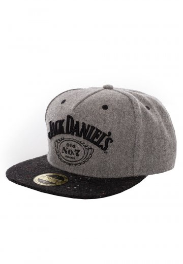 Jack Daniel's - Grey Logo Black - Cap