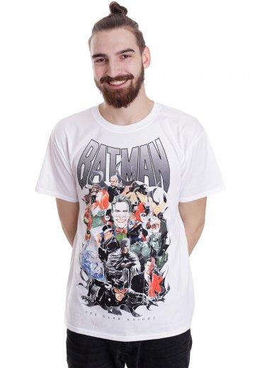 Justice League - Batman Villains White - T-Shirt
