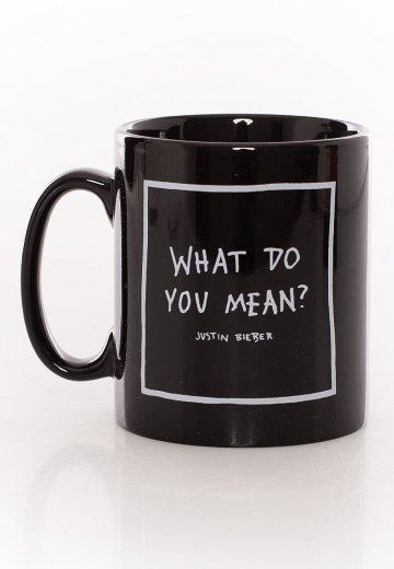 Justin Bieber - What Do You Mean - Mug