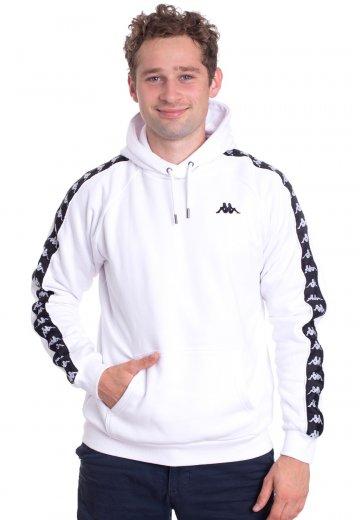 autoryzowana strona ogromny wybór świeże style Kappa - Finnus Bright White - Hoodie