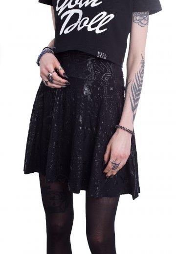 Killstar - Grave Skater Black - Skirts