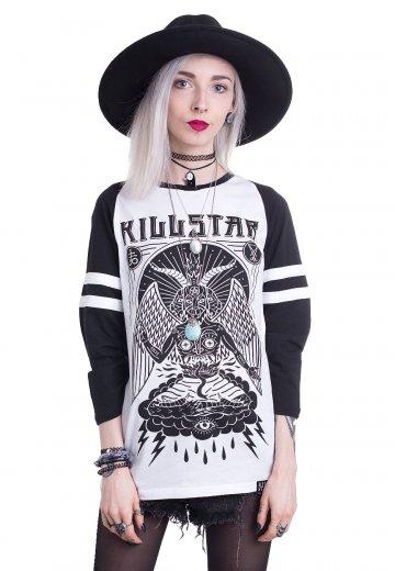 Killstar - In Like Sin White/Black - Longsleeve