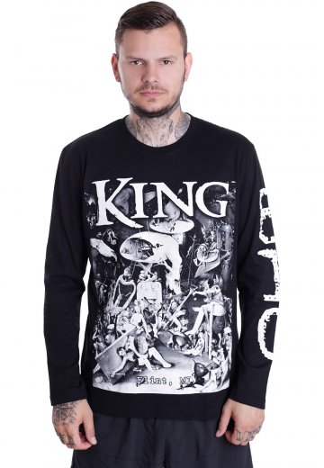 King 810 Earthly Delights Longsleeve Official Classic Rock