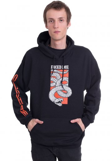 d6e62bbb Knocked Loose - Snake - Hoodie - Official Melodic Hardcore Merchandise Shop  - Impericon.com US