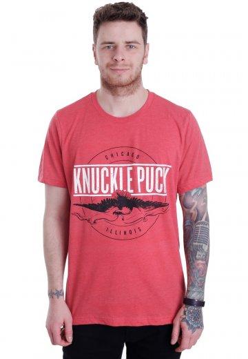 Knuckle Puck - Eagle Tri-Blend Red - T-Shirt