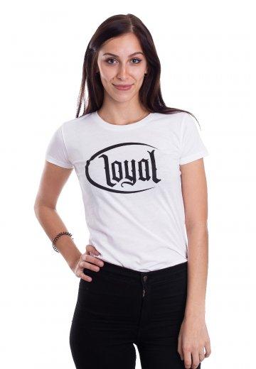 T-shirts Kontra K Loyal Circle Weiß T-shirt