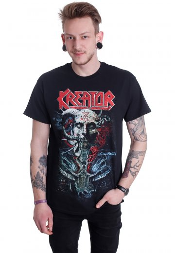 Kreator - Skull Satan Is Real - T-Shirt