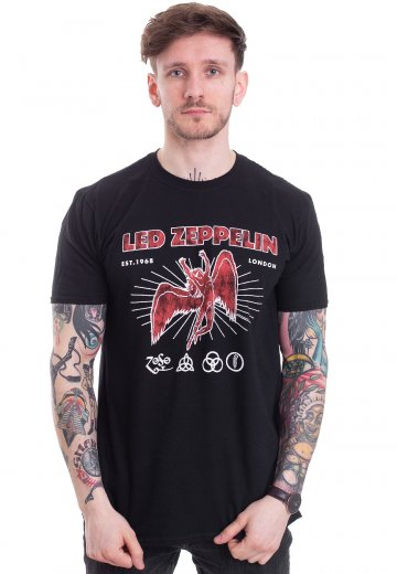 Led Zeppelin - 50th Anniversary - T-Shirt